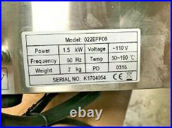 NEW 8L Electric Deep Fryer Counter Top Model Single Basket With Cover 110V