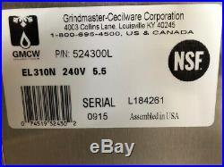 NEW Electric 2 Basket Deep Fryer Cecilware EL310N Stainless Steel Pot NSF #2575