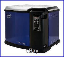 NEW Masterbuilt Butterball XXL Indoor Digital Electric 22 LB Turkey Frye, Blue