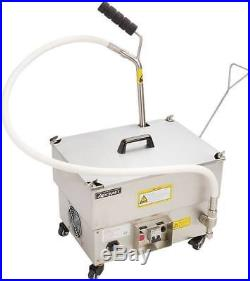 NEW Portable Deep Fryer Oil Filter System Adcraft OF-40 Pump #6323 Cleaning