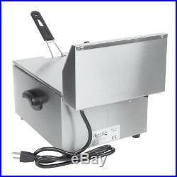 NIB Avantco F100 10 lb Electric Restaurant Countertop Deep Fryer Commercial 120V