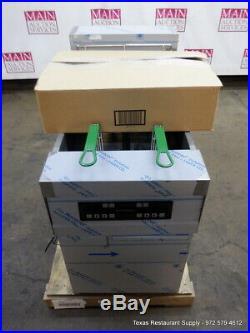 New Frymaster Electric RE180SE Electric Digital Deep Fryer On Legs