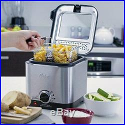 Oster Style Compact Deep Fryer Stainless Steel