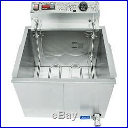 Paragon 55 lb. Electric Countertop Deep Fryer 240V, 5500W