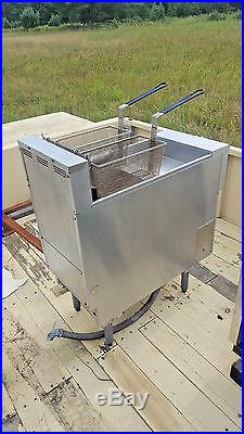 Pitco Deep Fryer SE14-S Electric