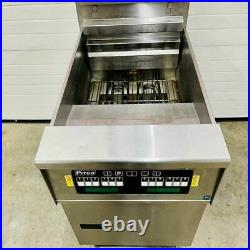 Pitco PH-SEF184 Electric 208V Deep Fryer with Filtration Tested & Working
