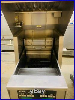 Pitco PH SEF184-S 60lb Electric Deep Fryer & Giles FSH-2-PH Combo