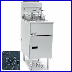 Pitco SE14R 50LB. Electric Solstice-R Solid State Deep Fryer