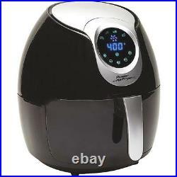 Power Air Fryer XL 2.4 Qt. Black Healthy Plastic Deep Fryer PAFB-24