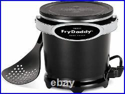 Presto 05420 FryDaddy Electric Deep Fryer, Black