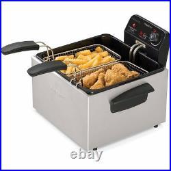 Presto Dual ProFry 12-Cup Deep Fryer W