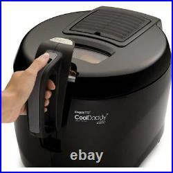 Presto Model 05446 CoolDaddy Cool Touch Electric Deep Fryer 6-Cup Easy Clean