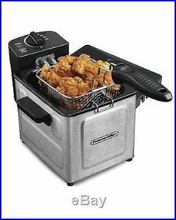 Proctor Silex Professional-Style Electric Deep Fryer Stainless Steel (35041)