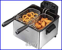 Professional Cooking Kitchen Style Deep Fryer Cooker Delicious Fries Chicken New