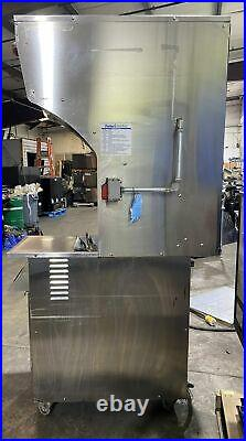 RESFAB MB-50ATV VENTLESS AUTOLIFT ELECTRIC DEEP FRYER With FIRE EXTINGUISER SYSTEM