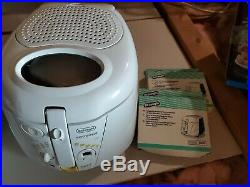 Rare DELONGHI Made in Italy ROTOFRITEUSE D895-UX Deep Fryer Kitchen with Filters