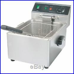 Restaurant Series DF-6L S/S Electric Single Pot 15 Lb Countertop Fryer