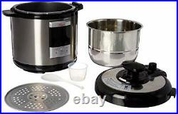 Rosewill 6Qt Programmable Pressure Cooker, Electric Rice Cooker, Oil Deep Fryer