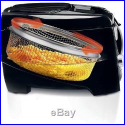 Roto Fry Cool Touch Low Oil Deep Fryer Cooker Electric Automatic Basket