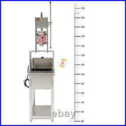 SS 5L Manual Churros Machine w 5 nozzles +25L Electric Deep Fryer +Working Stand