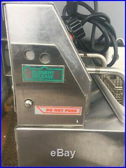 Star 510F Countertop Electric Deep Fryer