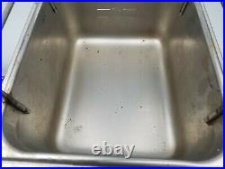 Star Commercial Resturant Deep Fryer Model 510F Electric Counter Top 2 Baskets