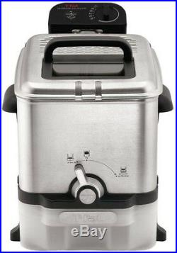T-Fal Deep Fryer Electric Cooking Frying Kitchen Oil Filter Removable Basket New