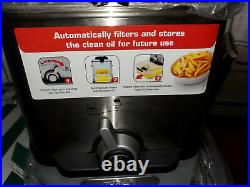T-Fal Deep Fryer With Basket Stainless Steel Easy To Clean FR8000