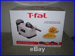 T-Fal Easy Pro Deep Fryer FR101450 Immersed Heating System Fast Perfect Results