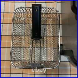 T Fal Emeril Deep Fryer 1.8L Stainless Steel 1.1 pound Food Model Serie F49-A
