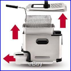 T-Fal Ultimate EZ Clean Professional Home Deep Fryer, Electric Countertop Cooker