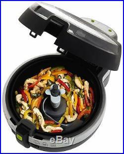 T-fal 2.2lbs LCD digital Air Fryer 38Recipes Cookbook Low Fat multi-cooker timer