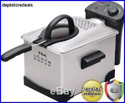 T-fal Deep Fryer Machine Electric Fry Food French Fries Countertop Kitchen Cook