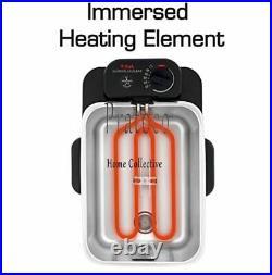 T-fal Deep Fryer with Basket, Stainless Steel, Easy to Clean Deep Fryer, Oil Fil