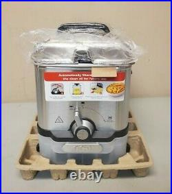 T-fal Deep Fryer with Basket, Stainless Steel, Easy to Clean Deep Fryer, Oil NEW