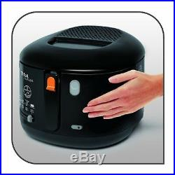 T-fal FF1628 Filtra One 1,600-Watt Cool Touch Exterior Electric Deep Fryer, Blac