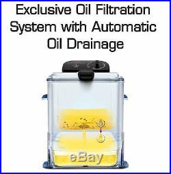 T-fal FR8000 Oil Filtration Ultimate EZ Clean Easy to clean 3.5-Liter Fry Bas