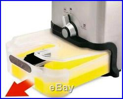 T-fal Ultimate EZ Electric Clean Home Deep Fryer Stainless Basket Oil Filtration