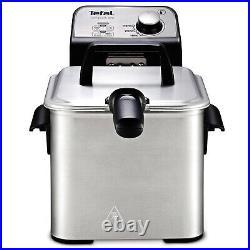 Tefal FR3220 Compact Pro Deep Fryer 2.6 Quart Basket Dual Level Cooking 1700W