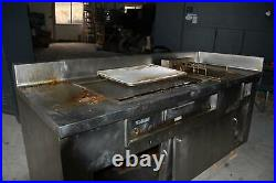 ToastMaster Standing Griddle and Deep Fryer Combo Electric 1405 7306 Commercial