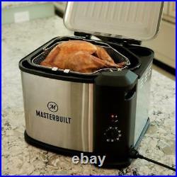 Turkey Deep Fryer 10 Liter XL Electric Boiler Steamer Accessories By Masterbuilt
