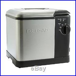 Turkey Fryer Large Capacity Deep Fryer Stainless Steel Electric Steamer Boiler
