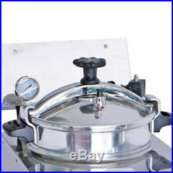 USA Ship 16L 8PSI Commercial Electric Pressure Fryer 2400W 110V/220V