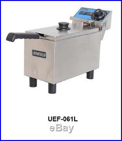 Uniworld Electric Economy 6 Liter Commercial Deep Fryer 110V Model UEF-061L