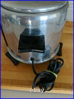 Vintage RARE Saladmaster Electric 5 Qt Deep Fryer Buffet Kettle Corn Cooker
