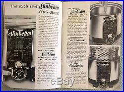 Vintage Sunbeam Cooker & Deep Fryer Model CF-5 (1954), NIB