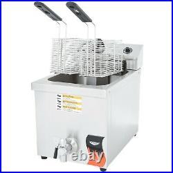 Vollrath 15 lb. Commercial Electric Countertop Deep Fryer 208/240V, 2600/3500W