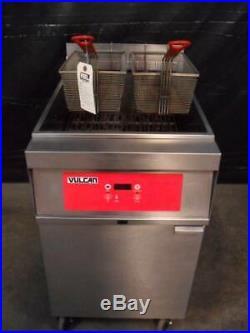 Vulcan 1ER85D 85 lb electric deep fryer
