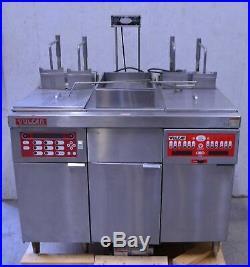 Vulcan 3ERC40 Commercial 2-Station Electric Deep Fryer