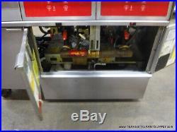 Vulcan 3ERD50F Electric Digital Deep Double Fryer Dump Station filtration system